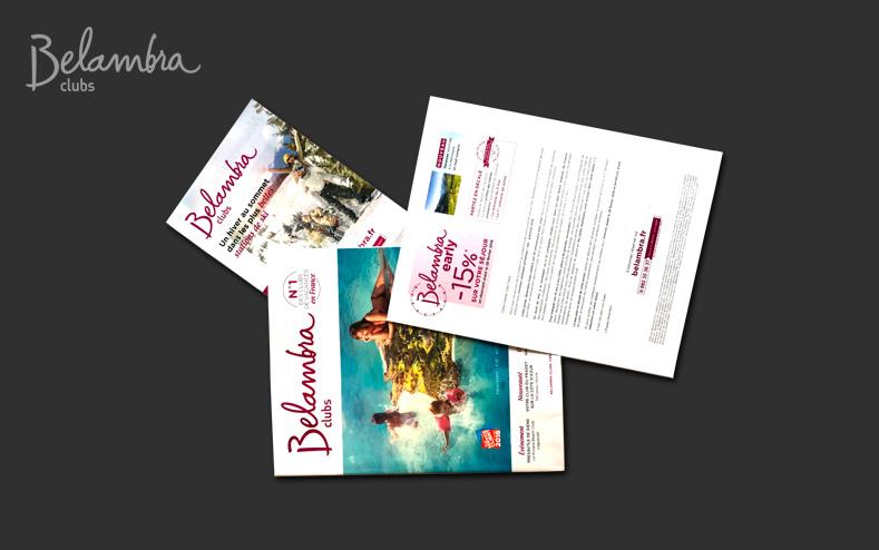 Personnalisation et routage du catalogue Belambra
