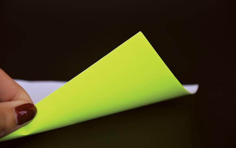 Papier fluo