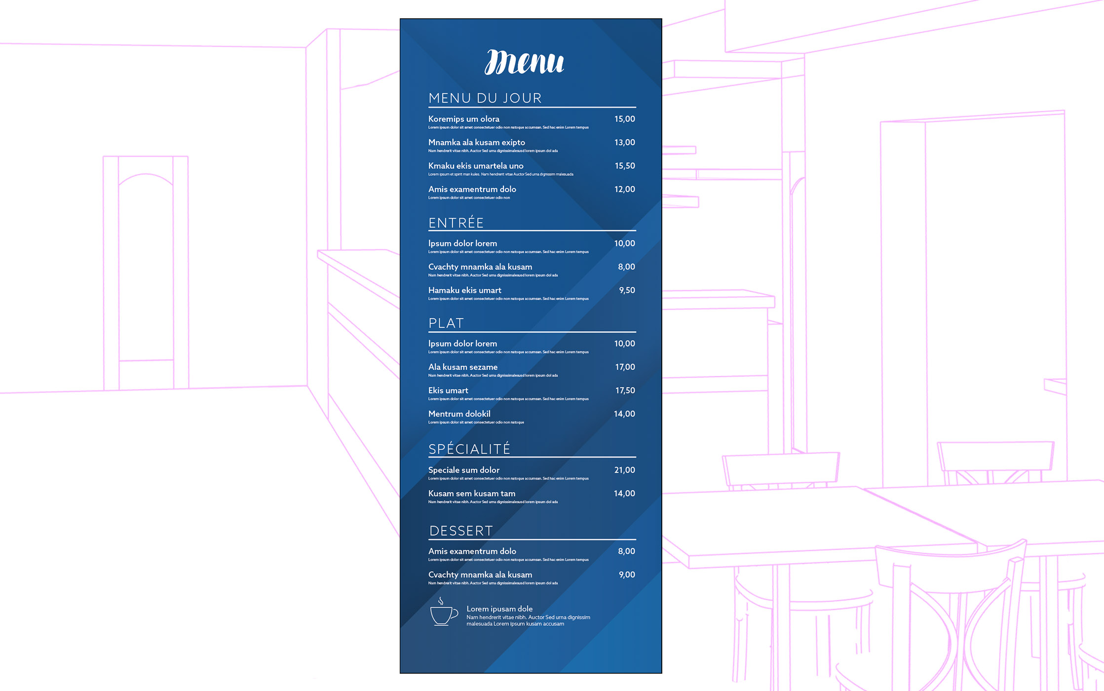 Menu Roll-up